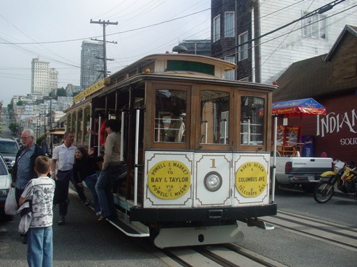 Cable Car 1 (Taylor St. & Bay St STOP)