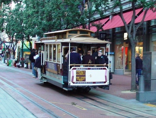 Cable Car 4 (Market/Powell STOP)