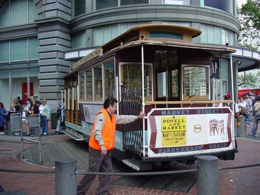 Cable Car 8 (Market/Powell STOP)
